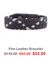 griffin | Finn Leather Bracelet