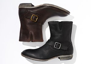 The Boot Shop: Buckles & Zippers