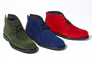 The Boot Shop: Suede
