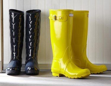 The Boot Shop: Rainboots ft. Hunter