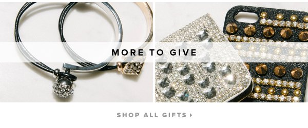 More to Give - - Shop All Gifts