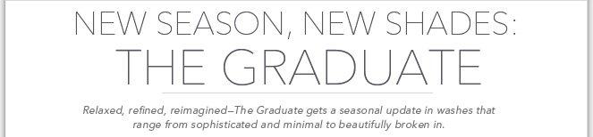 New Season, New Shades: The Graduate
