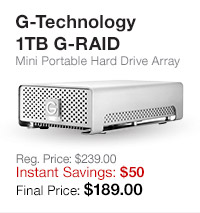 G-Technology External Drives