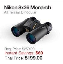 Nikon 8x36 Binocular