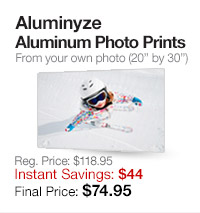 Aluminyze Aluminum Prints