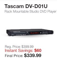 Tascam DVD Player