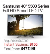 Samsung 40 LED TV