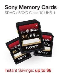 Sony Memory Cards