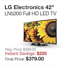LG 42 LED TV