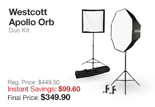 Westcott Apollo Orb Duo Kit