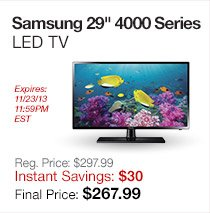 Samsung 29 LED TV