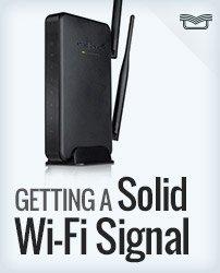 Solid Wi-fi Signal
