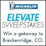 MICHELIN Elevate Sweepstakes Win a getaway to Breckenridge, CO.