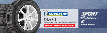 Michelin X-Ice Xi3, Sport Edition A7 Silver Painted
