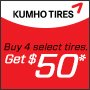 Kumho For the Way You Roll