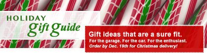 Holiday Gift Guide. Gift ideas that are a sure fit. Order by December 19h for Christmas Delivery.