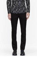 CALVIN KLEIN COLLECTION Black Baht Fashion Cargos for men