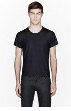 CALVIN KLEIN COLLECTION Black Bach Cintz t-shirt for men