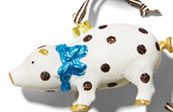 BENDEL PIG ORNAMENT