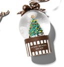 SNOWGLOBE ORNAMENT TREE