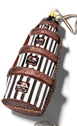 HENRI BENDEL HATBOX STACK ORNAMENT