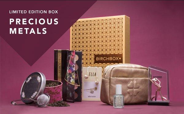 Limited Edition Box: Precious Metals