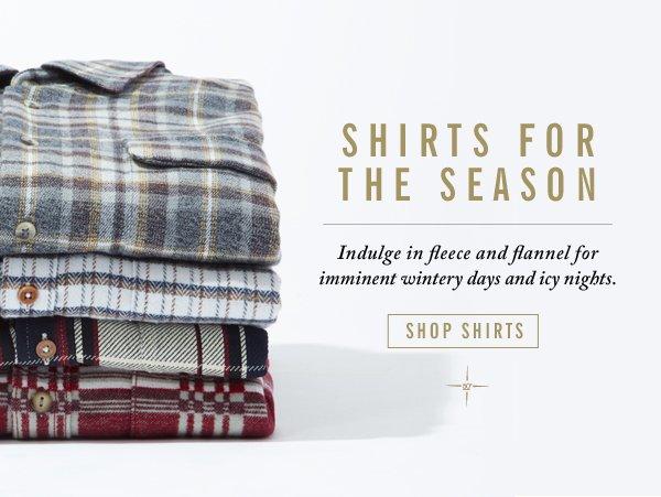 Shirts For The Season
