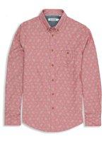 Paisley Print Chambray Shirt