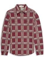 Plectrum Double Faced Fleece Check Shirt
