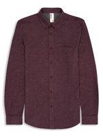 Plectrum Twisted Yarn Brushed Shirt