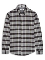 Brushed Flannel Twill Tartan Check Shirt