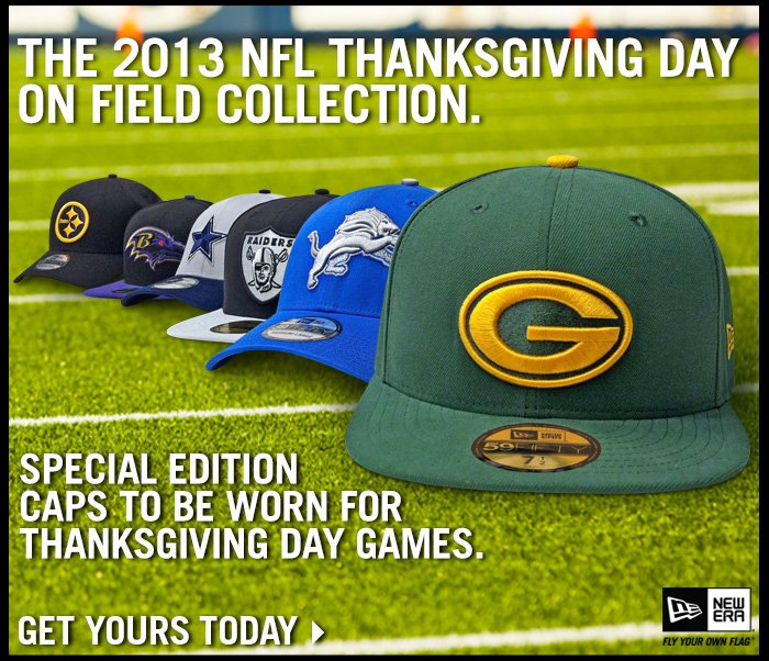 2013 Thanksgiving Day On Field Collection.