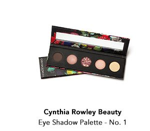 Cynthia Rowley Beauty Eye Shadow Palette No 1