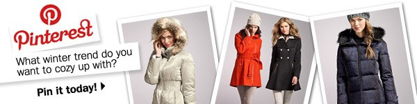 Pinterest. What winter trend do you want to cozy up with? Pin it today!