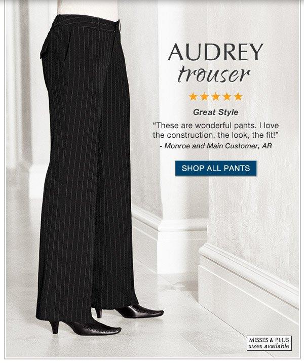 Audrey Trouser | Shop All Pants