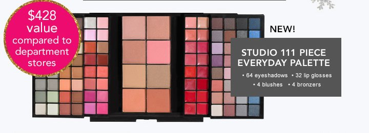 Studio 111 Piece Everyday Palette
