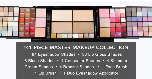 141 Piece Master Makeup Collection