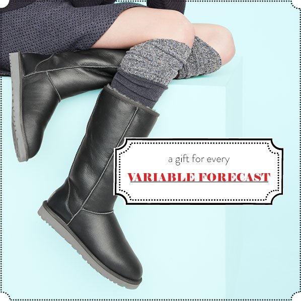a gift for every VARIABLE FORECAST