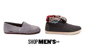 Shop Toms for Men at Journeys!