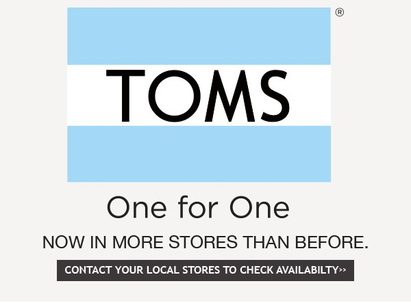 New TOMS Styles + Free Shipping