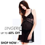LINGERIE - UP TO 60% OFF