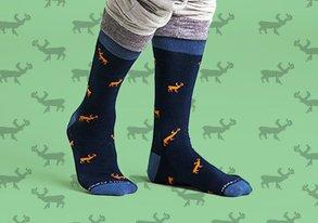 Shop Starting at $10: Statement Socks