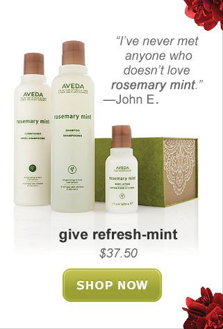 give refreshmint. shop now.