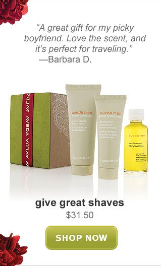 give great shaves. shop now.