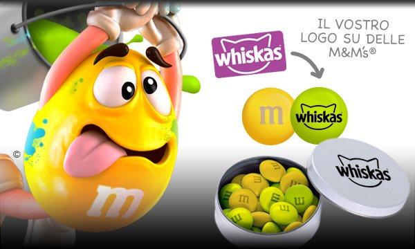Il vostro logo su delle M&M's®.