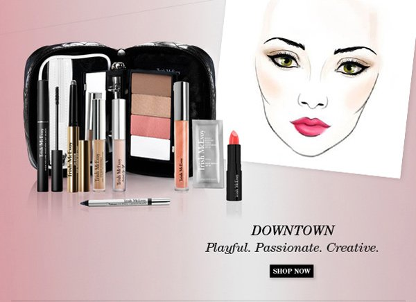 Trish McEvoy New Limited-Edition Makeup Panner® Collections - Downtown