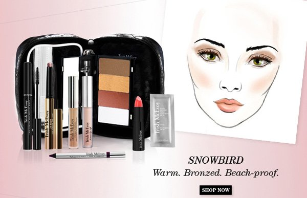 Trish McEvoy New Limited-Edition Makeup Panner® Collections - Snowbird