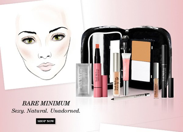 Trish McEvoy New Limited-Edition Makeup Panner® Collections - Bare Minimum