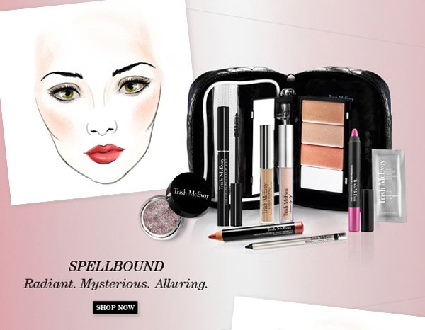 Trish McEvoy New Limited-Edition Makeup Panner® Collections - Spellbound