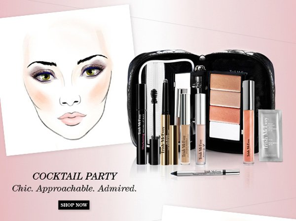 Trish McEvoy New Limited-Edition Makeup Panner® Collections - Cocktail Party